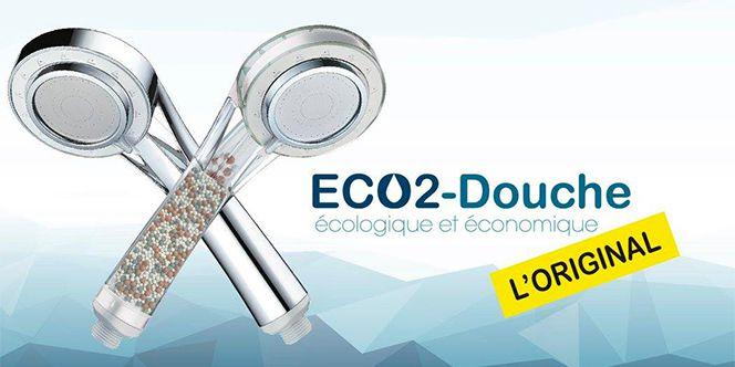 Eco2Douche, un pommeau de douche pas comme les autres.